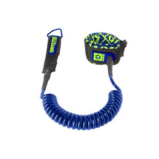 Sup Coiled Leash 10' - Navy