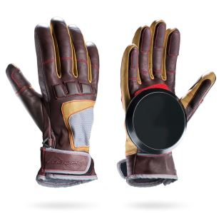 Advanced Freeride Gloves Brown