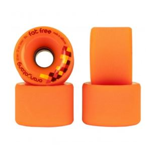 65mm Fat Free Orange 37mm 80a