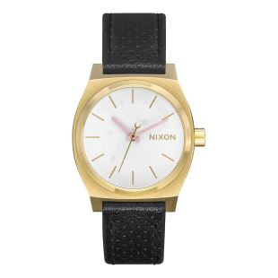 Medium Time Teller Leather Gold Soft Pink LH