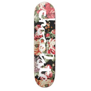 Deck floral Chunk Anderson 8.125 x 31.625