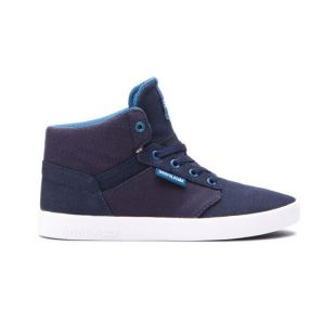 Youths Yorek Hi Midnight White