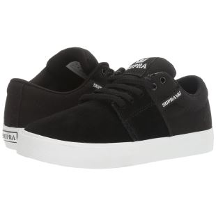 Youths Stacks Vulc II Black White