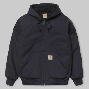 Active Jacket Dark Navy Rigid