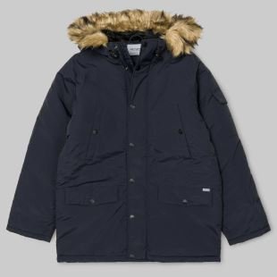 Anchorage Parka Dark Navy Black