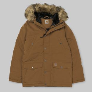Trapper Parka Hamilton Brown Black