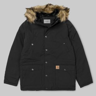 Trapper Parka Black Black