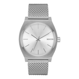 Time Teller Milanese All Silver