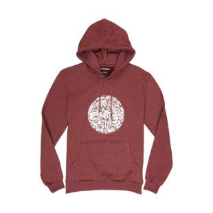 BJJ Motors Hoody Tawny Port