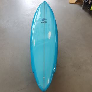 "Blue Bird 6'10"" x 20"" 3/4 x 2"" 7/8 Single"