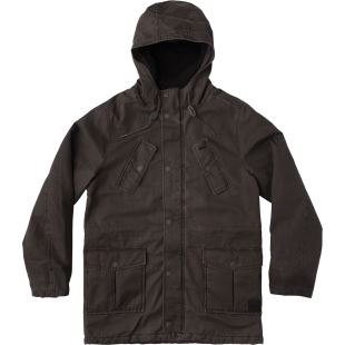 Ground Control Parka Pirate Black