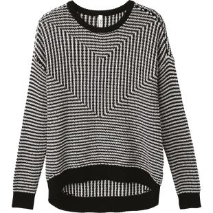 Light Up Sweater Black