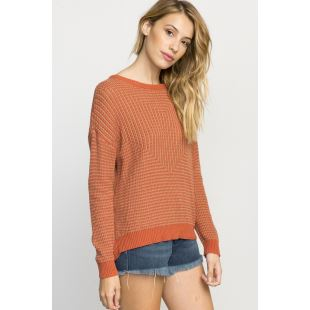 Light Up Sweater Dusty Rose