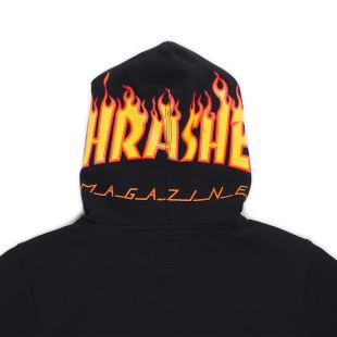 By Thrasher PO Fleece Black
