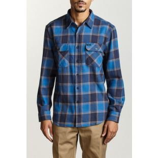 Bowery LS Flannel Blue Navy