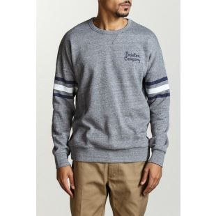 Barton Crew Heather Grey
