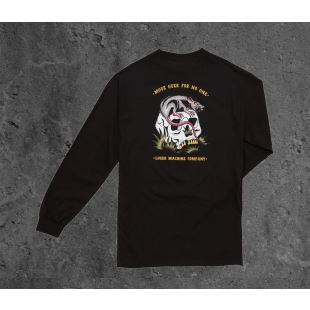Corrupted L/S Tee Black