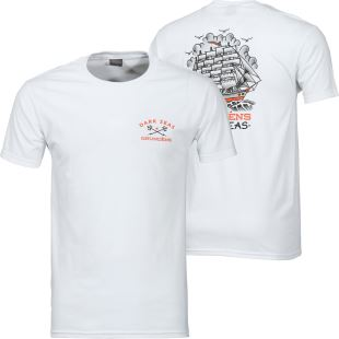 Dsxgrundens Ink & Iron Prem Tee White