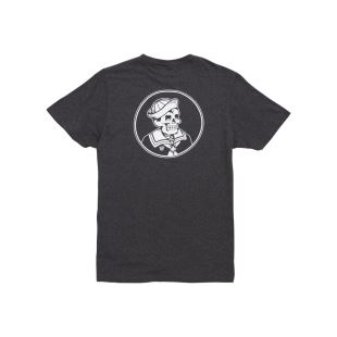 First Mate Blended Tee Heather Grey