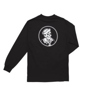 First Mate L/S Tee Black