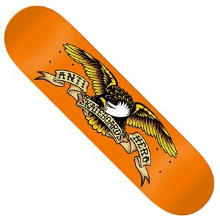 Deck Classic Eagle Larger Orange 8.62 x 32.56