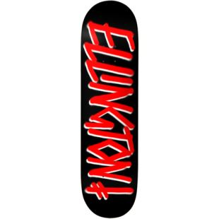 Deck EE Gang Name Blk Red 8.125