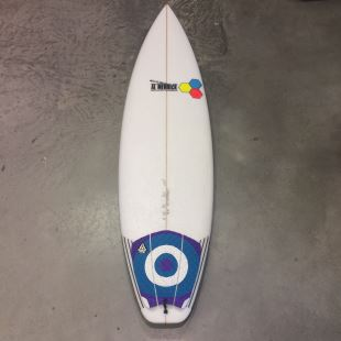 "Fred Rubble - 6'1 x 19"" 1/2 x 2"" 1/2 - 31 L - Futures - Thruster"