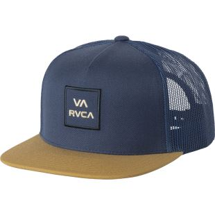 VA All The Way Trucker Navy Khaki