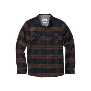 Corporal Wool Jacket Navy Plaid