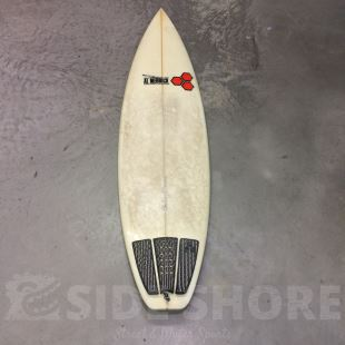 "Fred Rubble - 6'1 x 19"" 3/4 x 2"" 3/8 - 33 L - Thruster - FCS Fusion"