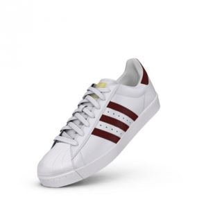 Superstar Vulc White Burgundy