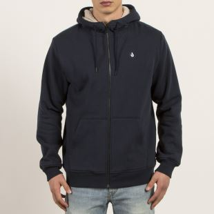 SNGL STN Lined ZIP NAVY