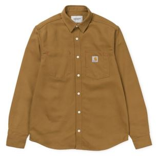 LS Tony Shirt Hamilton Brown Rigid