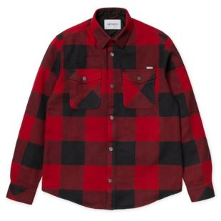 LS Graham Shirt Graham Check Blast Red