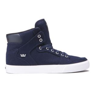 Vaider Navy Wool White