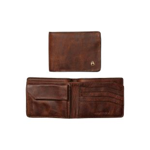 Arc SE Bi Fold Wallet Brown