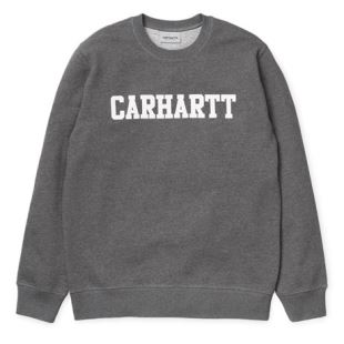 College Sweat Dark Grey Heather