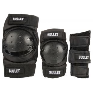 Bullet Adult Combo (pack de protections) Black