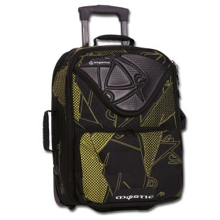 Flight bag black/yellow