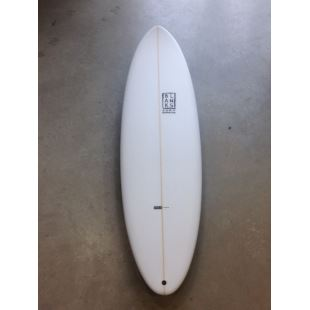 The Big One white - 6'8'' x 21'' 1/2 x 2'' 3/4 - 45 L - Thruster - FCS II