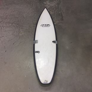"White Noiz - 5'10 x 19"" 1/4 x 2"" 7/16 - 28.8 L - Futures - Thruster"