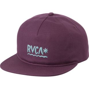 Squig Snapback Dark Purple