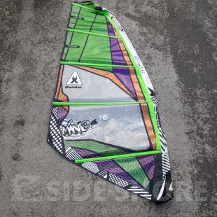 Manic Hd 4 7m Gaastra Ga Sails Windsurf Voiles D Occasion Side Shore