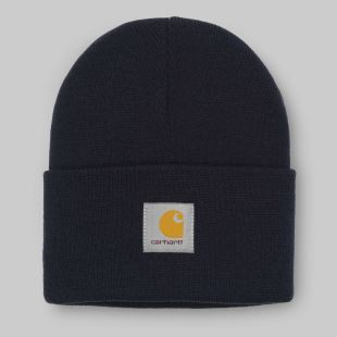 Acrylic Watch Hat Dark Navy