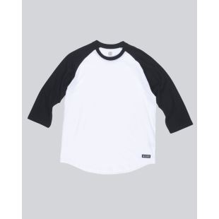 Basic Raglan QTR Optic White