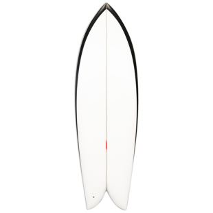 "Fish - 5'4 x 20"" 1/2 x 2"" 3/8 - Twin Wood Keel"