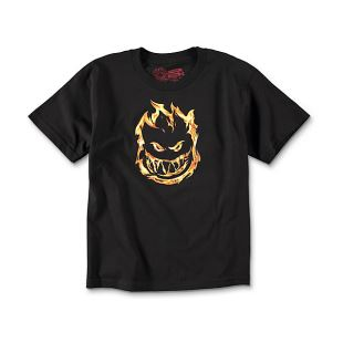 Spitfire T Shirt Youth 451 Blk