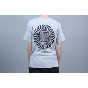 Spitfire T Shirt Classic Swirl Athletic Heather Wht
