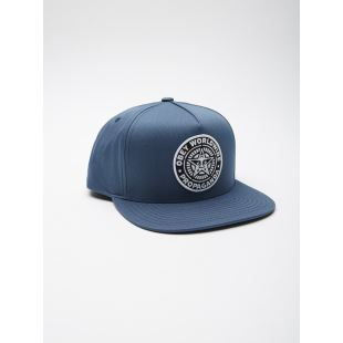 Classic Patch Snapback Faded Navy