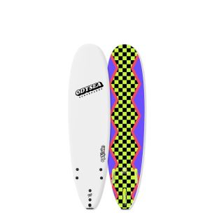 ODYSEA 7'0 - LOG - White / 80's Steeze